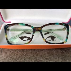 Blue Tortoise Shell Cortina Kate Spade Glasses